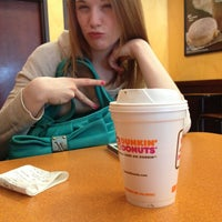 Photo taken at Dunkin' Donuts by Felicia C. on 3/20/2013
