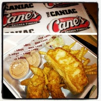 Photo taken at Raising Cane's by Sara G. on 12/15/2012