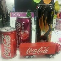 Photo taken at Coca-Cola İçecek A.Ş by Tugba B. on 3/15/2013