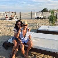 Photo taken at Singita Miracle Beach by Tomás C. on 8/8/2014