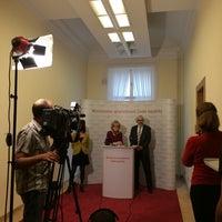 Photo taken at Ministerstvo spravedlnosti by Zuzana P. on 11/21/2014