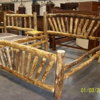Photo Taken At Great Rustic Furniture Company By Richard W On 7 26
