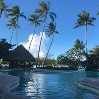 Photo taken at Le Taha'a Private Island And Resort Spa by Cassie Y. on 1/11/2018