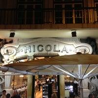 Photo taken at Café Nicola by Bruno F. on 4/25/2013
