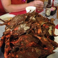 Photo taken at Schultz's Crab House by Sam S. on 10/20/2012