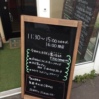 Photo taken at せたカフェキッチンぷらす by guys_dolls on 9/15/2014