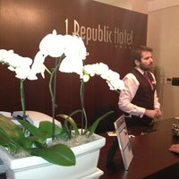 Photo taken at 1. Republic Hotel by Ольга З. on 2/27/2013