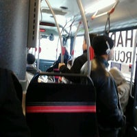 Photo taken at Charm City Circulator - Orange Route by BJ on 2/28/2013