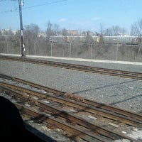 Photo taken at North Avenue Light Rail Station by BJ on 2/24/2013