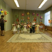 Photo taken at Детский сад № 1102 «Светлячок» by Olga P. on 3/7/2013