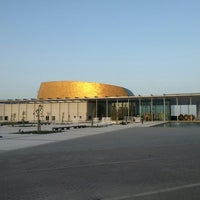 Photo taken at Bahrain National Museum by Ahmad F. on 3/21/2013