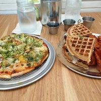 Photo taken at Jupiter Pizza & Waffles Co. by Karim M. on 8/25/2013