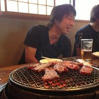 Photo taken at 炭火焼肉 一番星 by Teruyuki K. on 6/2/2013