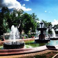 Снимок сделан в Пушкинская площадь пользователем Эмиль Н. 6/15/2013