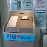 Photo taken at RHB Bank by Ken Z. on 2/4/2012