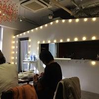 Photo taken at ninOval cafe by Mitsuo K. on 1/31/2016