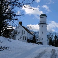 Photo taken at Cape Elizabeth Lighthouse by Michael F. on 2/12/2017