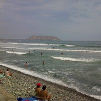 Photo taken at Circuito de Playas - Miraflores by Silvia M. on 3/3/2013