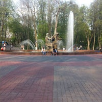 Photo taken at Кремлёвский парк by Ксения Л. on 5/13/2013