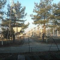 Снимок сделан в ПС 220 кВ Литейная пользователем Татьяна Я. 3/11/2014