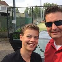Photo taken at Tennisvereniging Rebounce by Armani M. on 6/12/2016