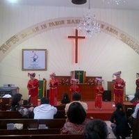 Photo taken at GKPS Cempaka Putih by Mitha M. on 7/7/2013