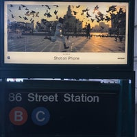 Photo taken at MTA Subway - 86th St (B/C) by Ajith K. on 8/12/2017