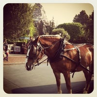 Photo taken at Horse-Drawn Streetcars by Cassandra V. on 12/22/2012