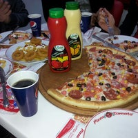 Photo taken at Pizza Tomato by Vedat Y. on 3/3/2013