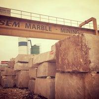 Photo taken at ALSEM MERMER BLOK SAHASİ by Hüseyin O. on 2/10/2016
