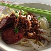 Photo taken at Pork Ball Noodles, Medan Selera Desa by Batman on 8/26/2013