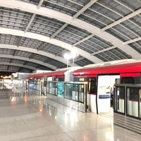 Photo taken at Subway T3 Terminal Station by Scooter T. on 12/11/2017