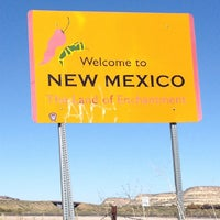 Photo taken at Arizona/New Mexico State Line by Tyffany G. on 9/25/2013