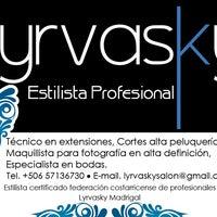 Photo taken at Lyrvasky Estilista Profesional by Lyrvasky M. on 5/21/2013