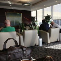 Photo taken at United Club by Rick N. on 3/3/2013