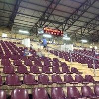 Photo taken at Estádio Doutor Adhemar Pereira de Barros (Arena da Fonte) by Matheus B. on 3/16/2013