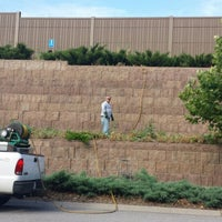 Photo taken at Kdot wall (Switzer) by Audrey M. on 7/15/2013