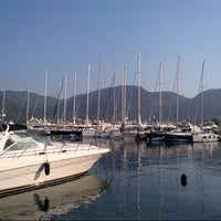 6/26/2013 tarihinde Bahar K.ziyaretçi tarafından D-Marin Göcek Marina'de çekilen fotoğraf