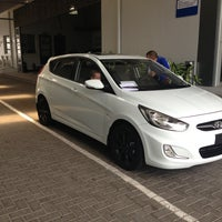 Photo taken at Hyundai by Roberto M. on 4/13/2013