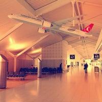Photo taken at Birmingham Airport (BHX) by Tolga O. on 5/13/2013