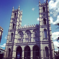 Photo taken at Notre-Dame Basilica of Montréal by Jimmy F. on 6/16/2013