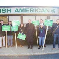 Photo taken at Irish American Association by Ed M. on 3/16/2013
