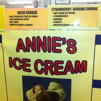 Photo taken at Annie's Ice Cream by Savanah A. on 5/31/2013