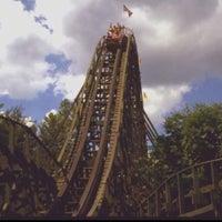 Photo taken at Knoebels Amusement Resort by Savanah A. on 6/15/2013