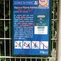 Photo taken at Square Pierre-Adrien-Dalpayrat by Maxime L. on 7/1/2013