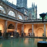 Photo taken at The Roman Baths by Haru on 11/20/2012