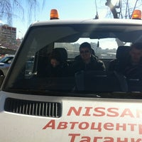 Photo taken at Автотехцентр Nissan by Сергей Р. on 3/29/2013