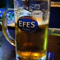 Photo taken at Efes Garden Pub by Sefa P. on 11/19/2013