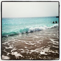 Photo taken at Amara Dolce Vita Beach by Katerina A. on 3/30/2013