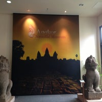 Photo taken at Angkor National Museum by Jimmy B. on 5/8/2013